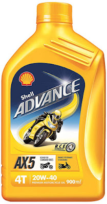 Shell Advance ax5 Engine Oil