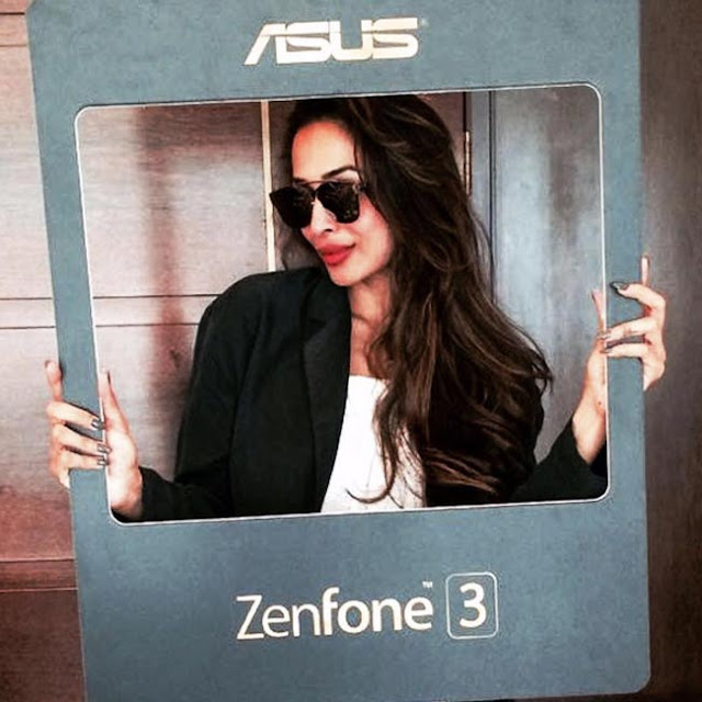 Malaika Arora Khan promotes Asus Zenfone 3 series smartphones - Bollywood actress Malaika Arora Khan clicked during promotion of Asus Zenfone 3 series smartphones.