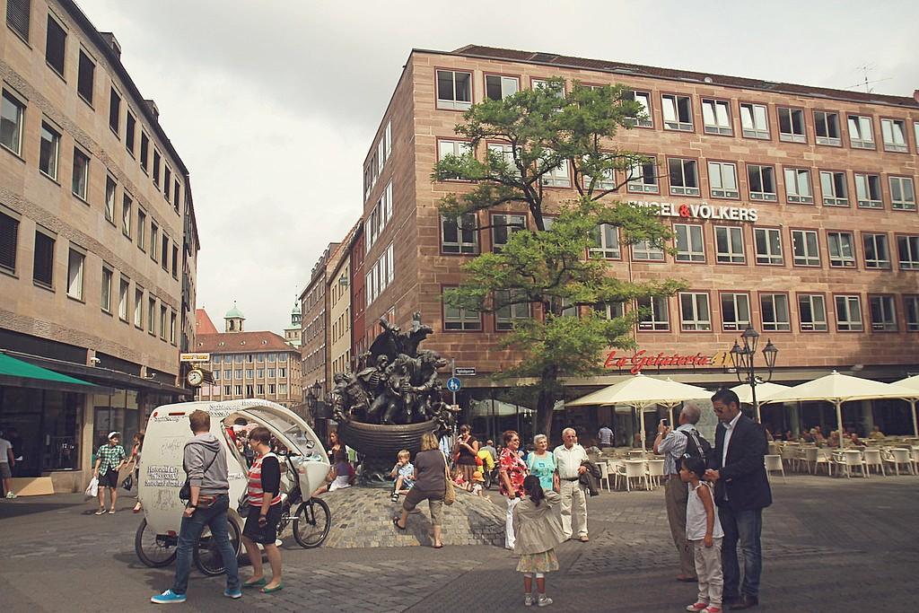 Nuremberg walking