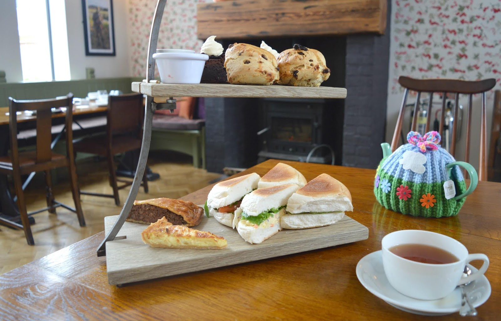 St Mary's Inn Morpeth- Rustic Afternoon Tea Review