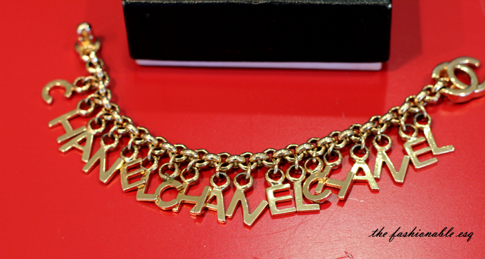 chanel chain belt vintage rare