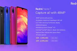 Spesifikasi Lengkap  Redmi Note 7 Dan  Kelebihanya