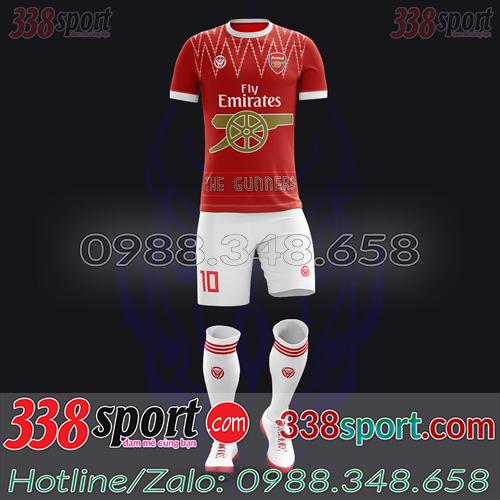 Áo Arsenal Đặt May Theo Yêu Cầu - Mã ARSENAL 03