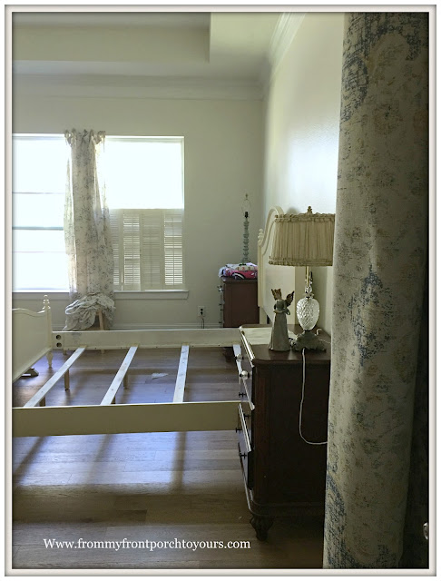master bedroom makeover-placement of bed-from my front porch to yours