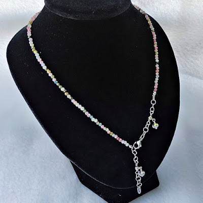 Tourmaline Face mask / Eyeglasses Chain / Strap as Necklace