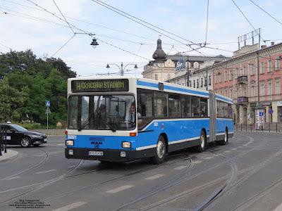 MAN SG242, MPK Kraków