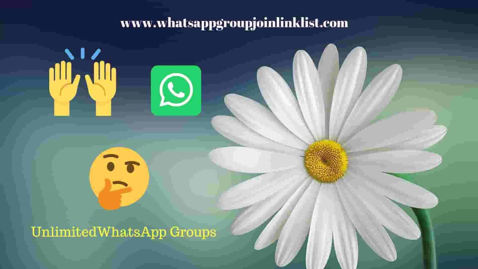 5000+ WHATSAPP GROUP LINKS 2019