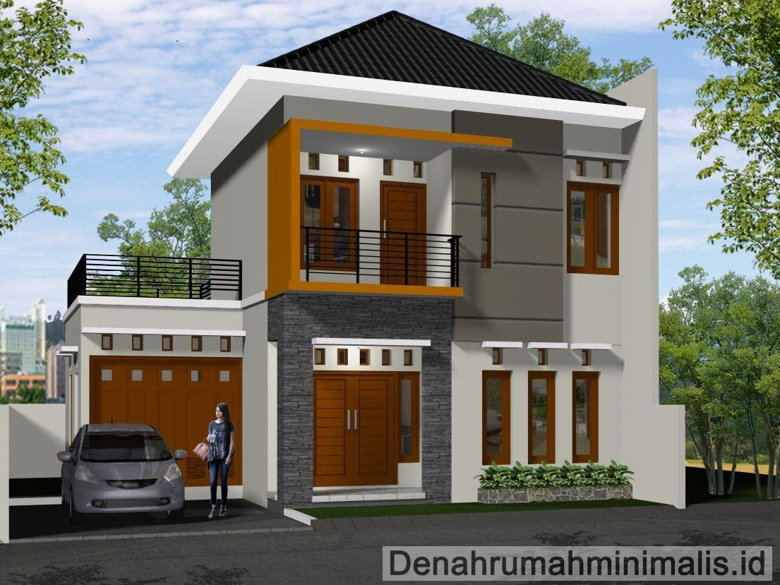 Minimalist house design 2 floor type 36 36 6 21 21 45 for Minimalist house design 36 72