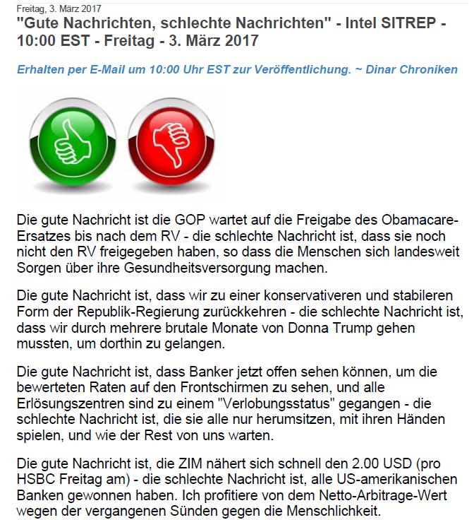boersenwolf: INTEL 03.03.2017 + M1 ( Der EINSER: \