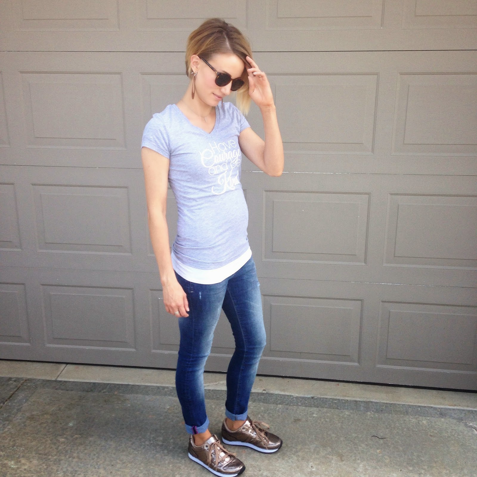 10e7b2b05a9 You Might Also Like. Dressing the Bump- 1st Trimester ...