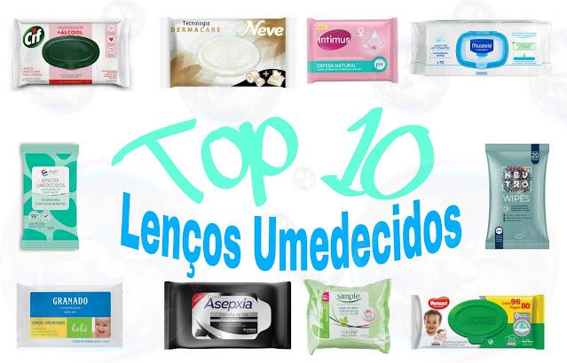 TOP 10 LENCOS UMEDECIDOS