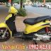 Sơn xe máy Liberty màu vàng cực đẹp