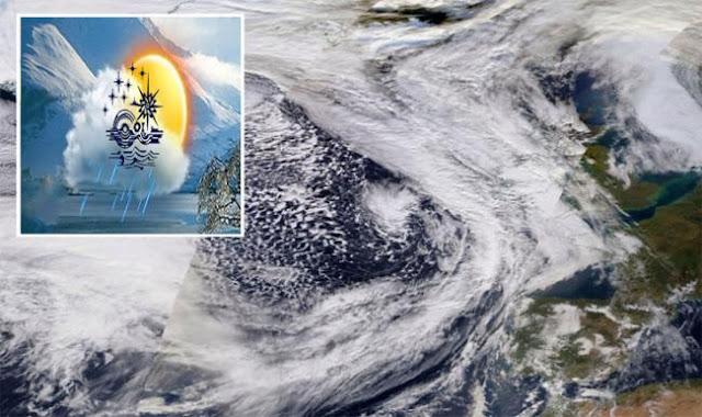 عاجل تقلبات مناخية قادمة وإعصار «كيارا» يقترب من سواحل تونس