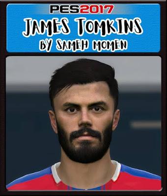 PES 2017 James Tomkins Face By Sameh Momen