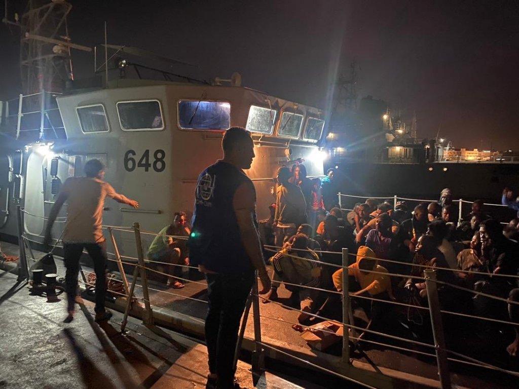 .Crise migratoire : Près de 300 migrants renvoyés en Libye en une journée