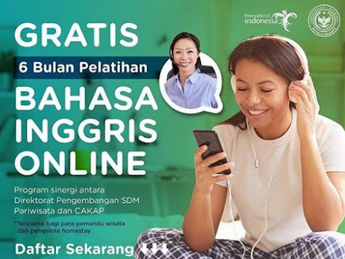 latihan bahasa inggris online