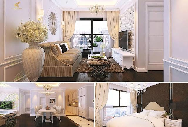 Hình ảnh nội thất căn hộ chung cư Sunshine Garden