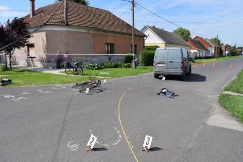 Meghalt a kerékpáros, akit kedden gázoltak el Csorváson