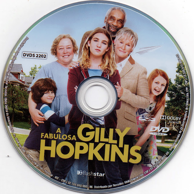 Label DVD A Fabulosa Gilly Hopkins (Oficial)