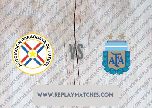 Paraguay vs Argentina Full Match & Highlights 08 October 2021