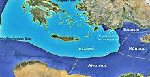 ριοθέτηση διαχωριστικής γραμμής μεταξύ Ελλάδας και Τουρκίας
