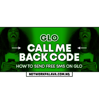 glo call me back code for free sms