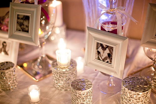 WEDDING BY DESIGN: Guestbook Table Decoration