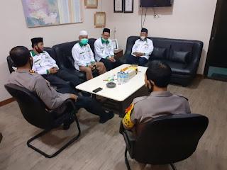 Kapolres Endon Nurcahyo Terima Kunjungan Silaturahmi Pengurus Baznas Pangkep