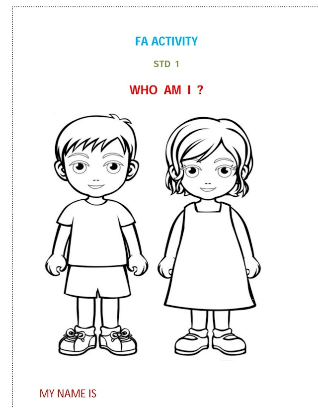 FIRST STD (FA) 26 ACTIVITY -  PDF DOWNLOAD