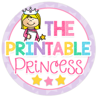 The Printable Princess