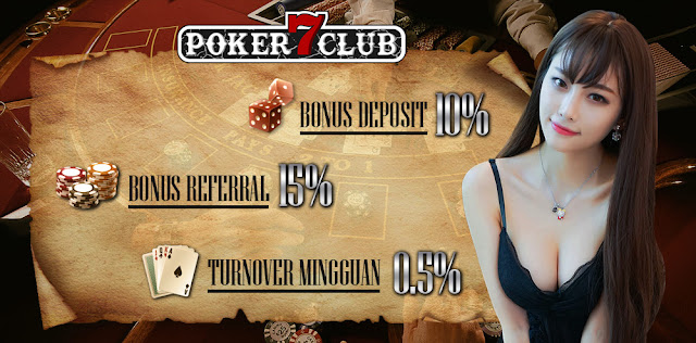 Bonus turnover Poker7club