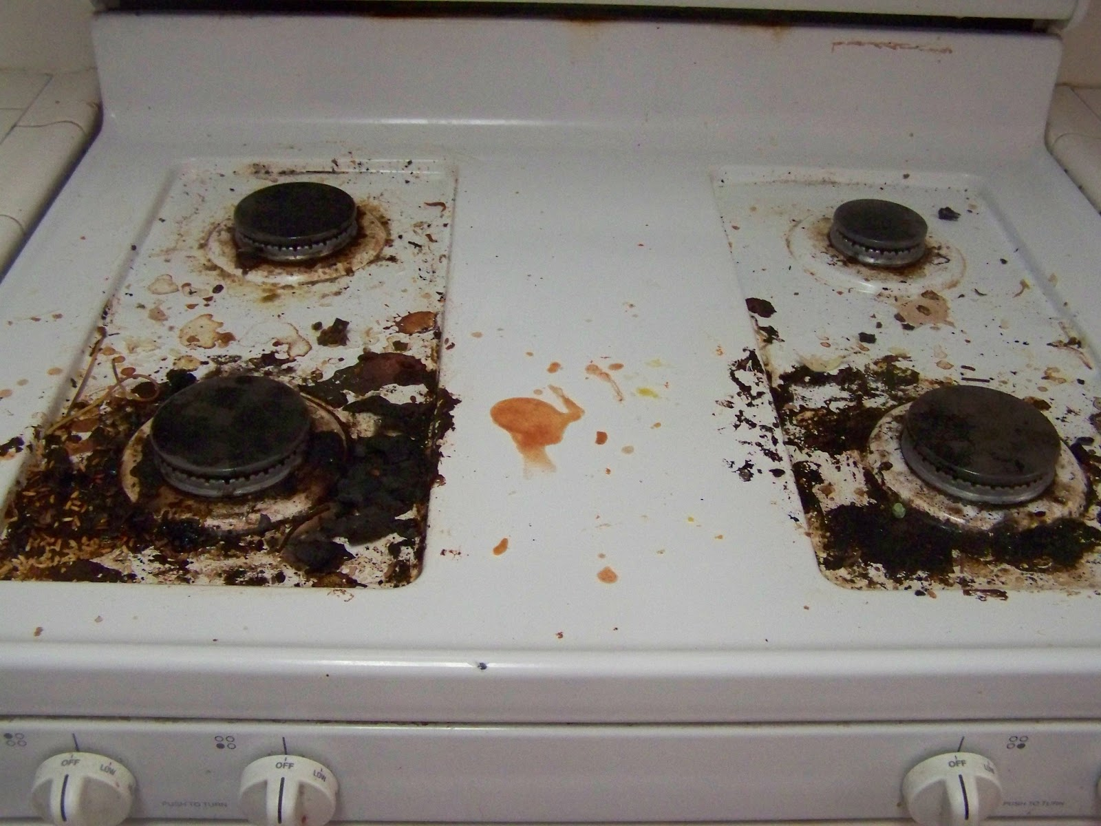 This Week S Pinterest Experiment Is The Stove Top Cleaner My Has Been Pretty Bad Try As I May Can T Seem To Get It Clean
