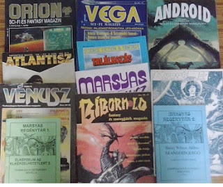 Magyar sci-fi és fantasy magazinok a 90-es években