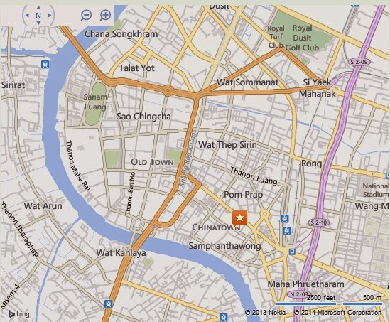 Chinatown Bangkok Location Map,Location Map of Chinatown Bangkok,Chinatown Bangkok accommodation destinations attractions hotels map reviews photos pictures
