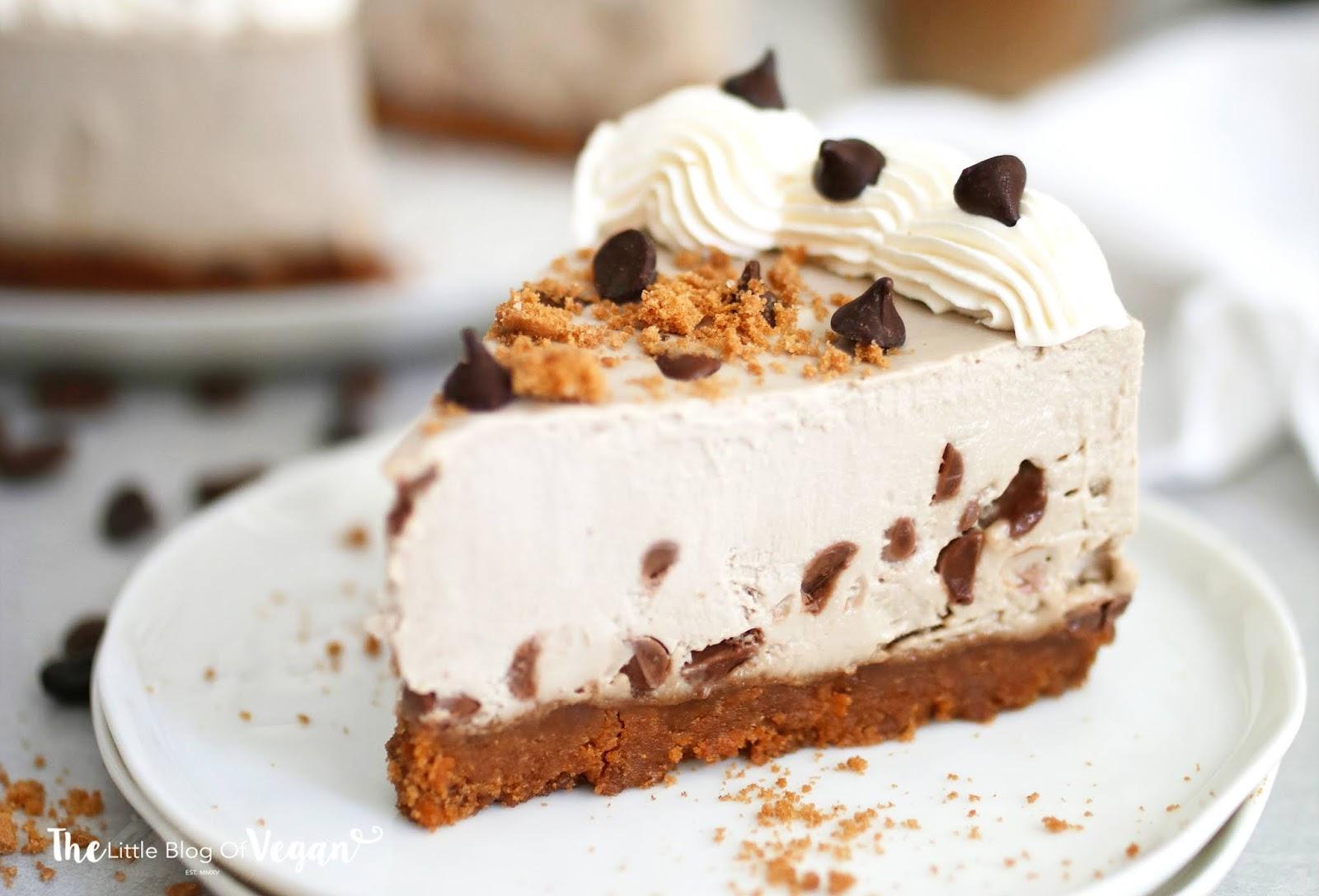 No-bake chocolate chip espresso cheesecake recipe   Ft Sproud