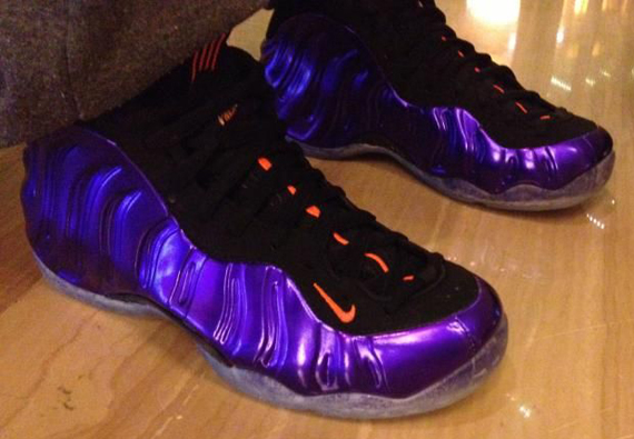 """fed3114a854dc Nike Air Foamposite One """"Suns"""" – On-Feet Images"""