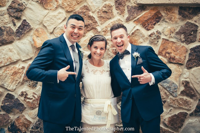 Wedding planner with groom