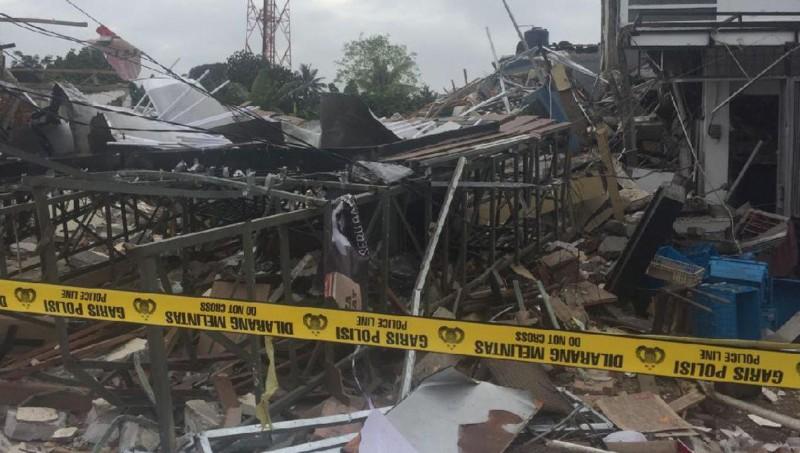 Ledakan di bangunan Pizza Hut Delivery (PHD), Pondok Melati, Bekasi