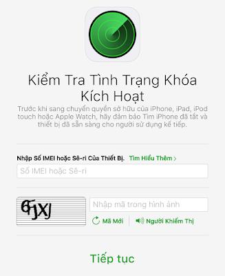 kiểm tra iCloud iPhone