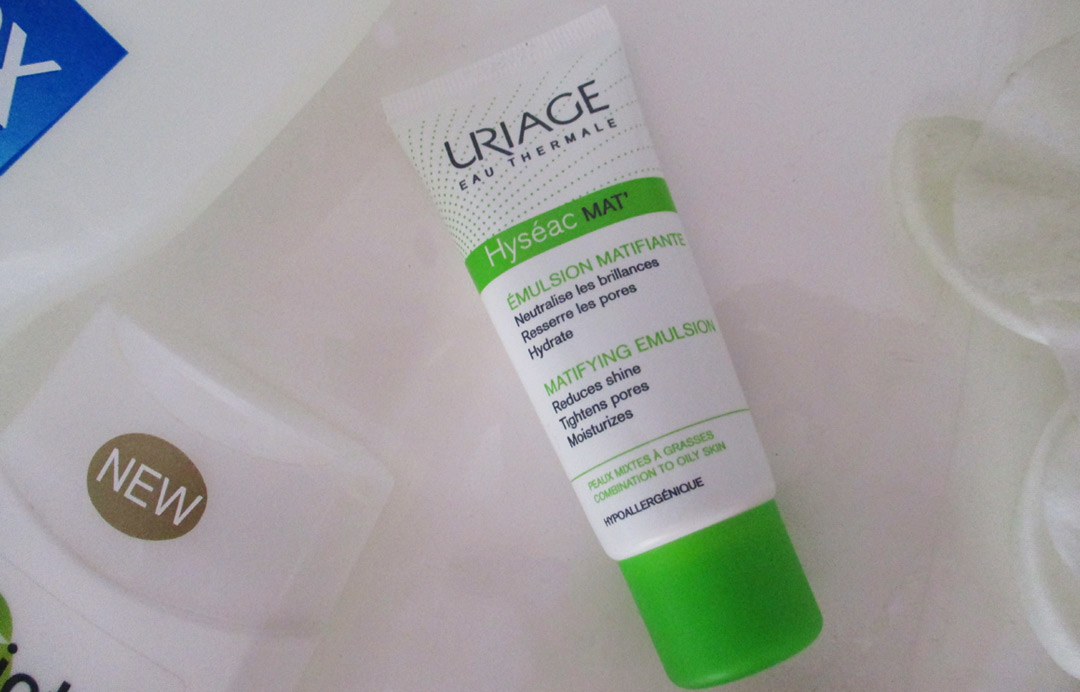 Uriage Hyseac Mat Mattifying Emulsion