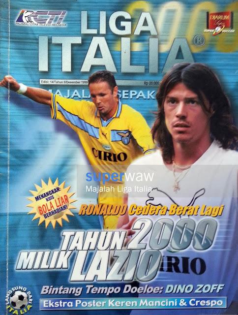 Majalah LIGA ITALIA (TAHUN 2000 MILIK LAZIO)