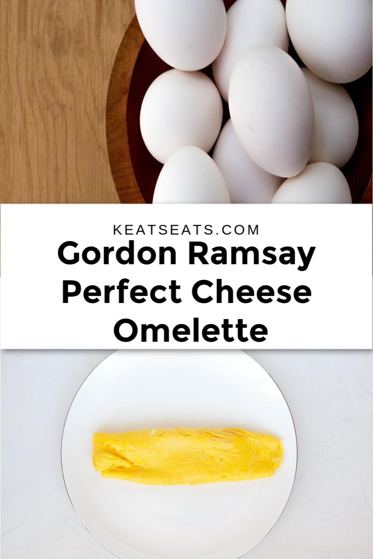 The Gordon Ramsay method to make an omelette