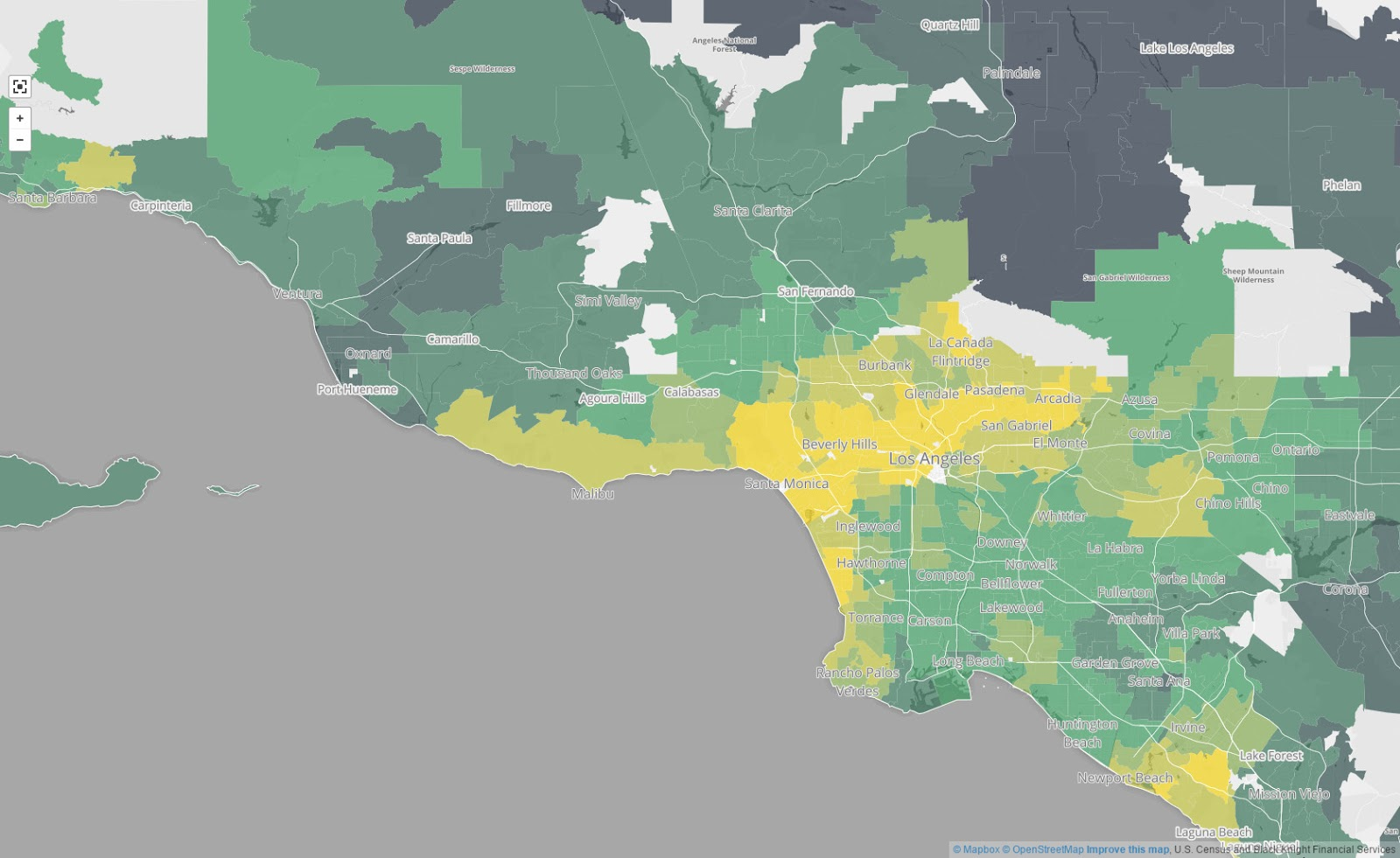 America's great housing divide: Are you a winner or loser? (Los Angeles)