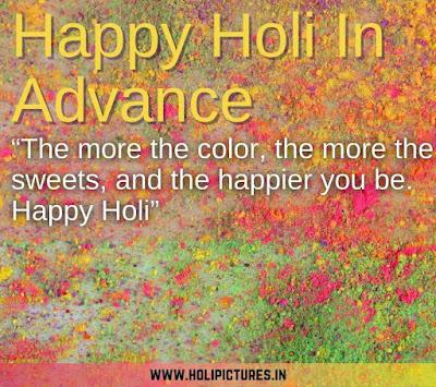 advance me happy Holi images