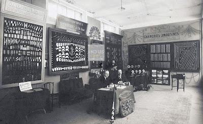 Gaillard et Mignot. Forges Saint-Hippolyte. Chaineries Limousines. Foire de Lyon 1922