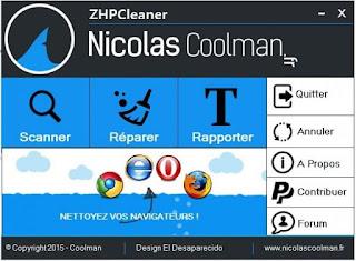 تحميل برنامج 2020 ZHPCleaner برنامج تنظيف الكمبيوتر من أشرطة الادوات والبرامج الاعلانية الضارة