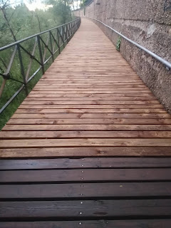 Correr por puentes y pasarelas