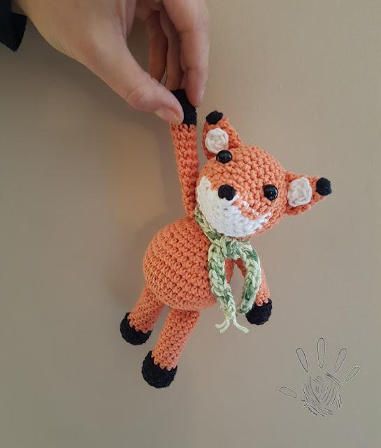 Freddie the Fox – amigurumi pattern