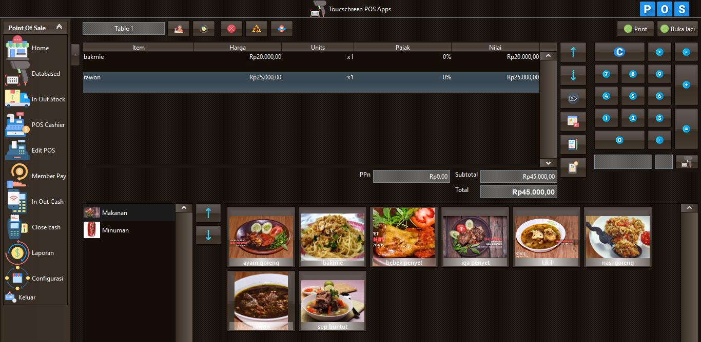 Aplikasi restoran gratis download full version