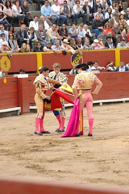 toreros jose garrido escribano paco ureña corrida toros lima peru